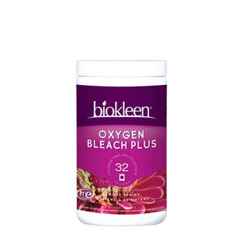 Biokleen Oxygen Bleach Plus, great for whitening and disinfecting without chlorine
