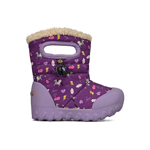 Bogs Baby Boots, B-Moc style, shown in Pegasus Purple Multi color