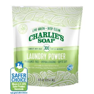 Charlie's Soap Laundry Detergent - Biodegradable and Made in the USA