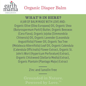 Earth Mama Organic Diaper Balm - Organic and made in the USA!