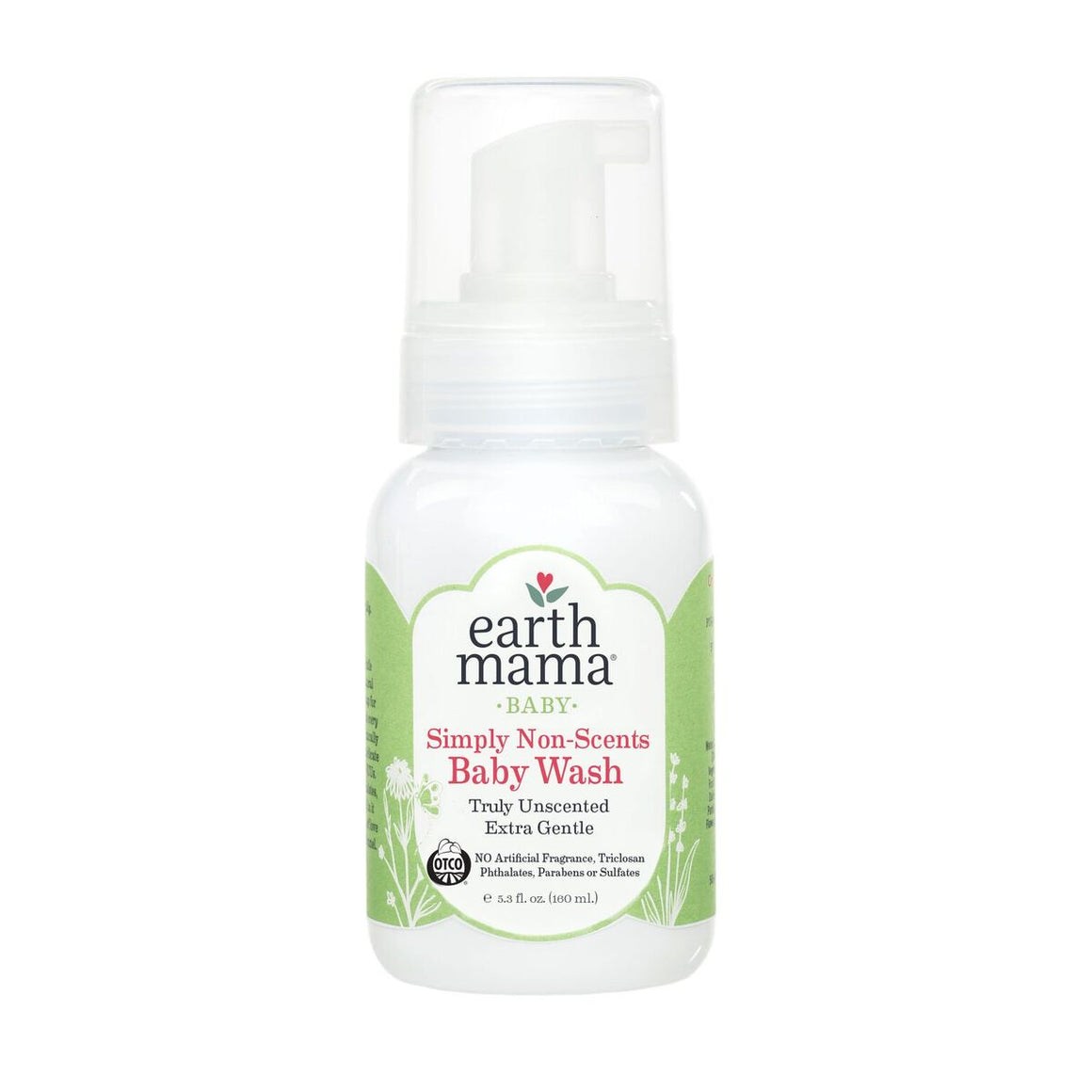Earth Mama Organics Shampoo & Body Wash, foaming dispenser, made in the usa