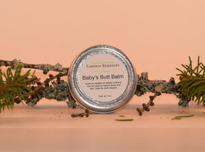 Earthly Remedies baby's butt balm is made in the USA