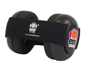 EM's noise protection earmuffs are made in the USA are great for concerts, live sports, air shows, night travel and more