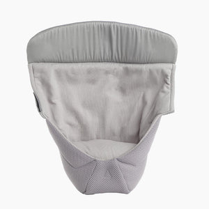 ergo baby easy infant snug insert in cool mesh grey