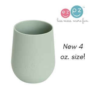 ezpz 4 ounce mini cup is made from PVC, BPA and phthalate-free silicone