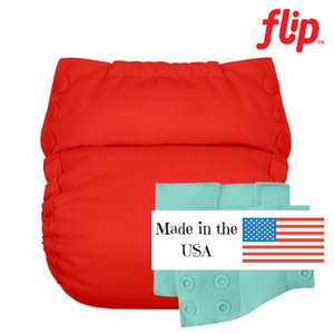 Flip Cloth Reusable Training Pant, with 3 organic cotton inserts included. Made in the USA.