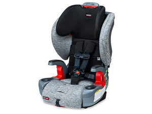 britax grow with you clicktight harness 2 booster seat in asher color for toddlers 2 years and older