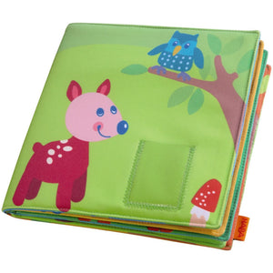 "HABA First Photo Album Friends of the Enchanted Forest measures 9.29"" x 1.18"""