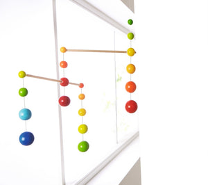 HABA Rainbow Balls Nursery room mobile