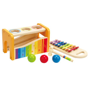 Hape Pound and Tap Bench pieces and awards