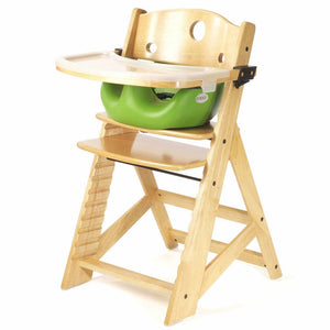 Keekaroo Adjustable Height High Chair in Mahogany, Natural, and Espresso Wood