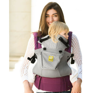 lillebaby complete 6-in-1 airflow carrier in the color mist