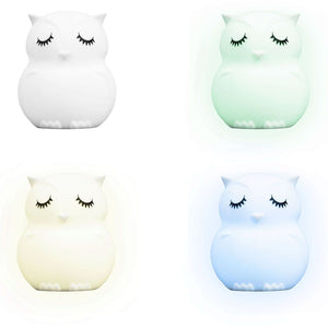 LumiPets night light has eight selectable colors and offers a gentle and calming glow
