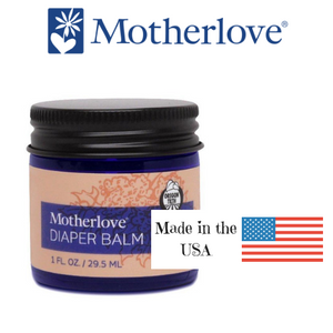Motherlove Diaper Balm - soothing salve for the diaper area, made in the USA