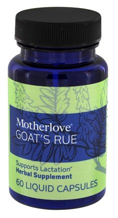 motherlove goat's rue herbal lactation supplement, made in the usa