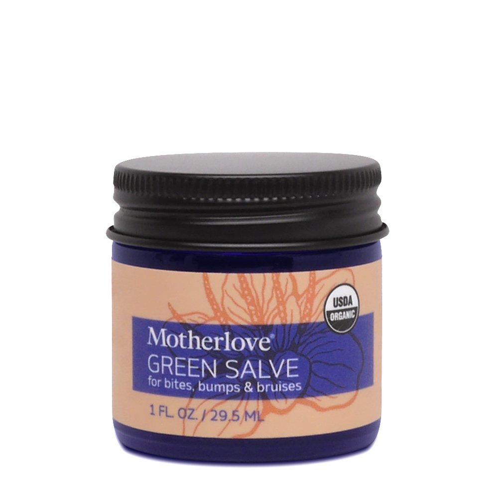 Motherlove Herbals Green Salve - all purpose, organic skin salve, made in the USA