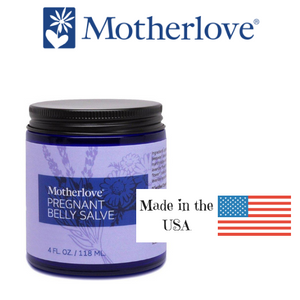 Motherlove Herbals Pregnant Belly Salve, Made in Colorado, USA