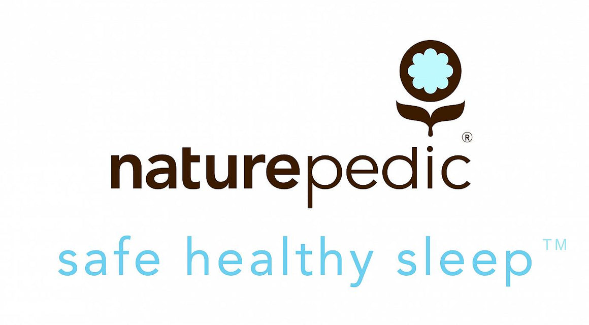 Naturepedic Organic Cotton Ultra 2 in 1 252-Coil Crib Mattress, measures 27.75 x 52 x 6, made in USA