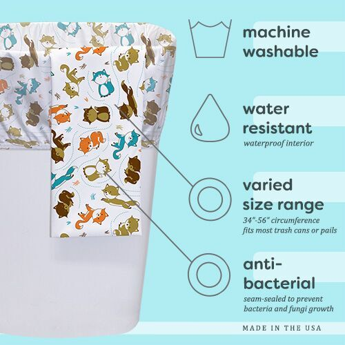 Planet Wise Reusable Diaper Pail Liner Make A Wish