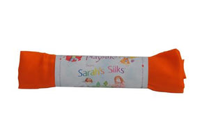 sarahs silks in packages displaying their rainbow of colors