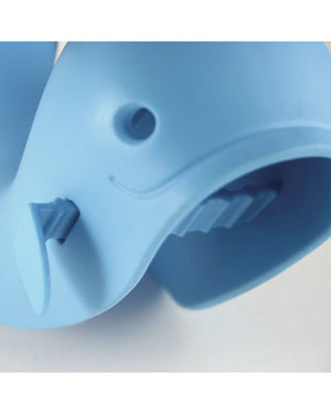 Skip Hop Moby Bath Spout Cover, shown on spout