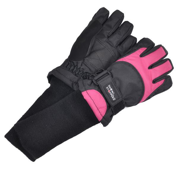 snow stoppers winter sports gloves in color fan