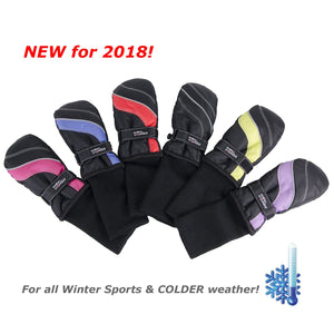 snow stoppers kids winter sports mittens are new for 2018 and great for all winter sports