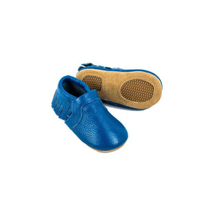 Sojo Moccs offers everyone who bought or received a new pair of SoJo Moccs one free trade-up into a bigger size! Just pay $6.95 for shipping/handling.