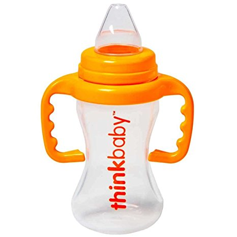 Thinkbaby BPA Free Sippy Cup, shown in green, made in the USA