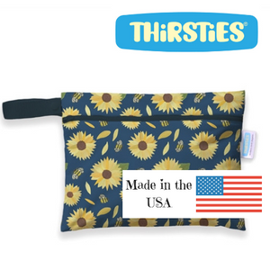 thirsties mini wet bags are made in the USA