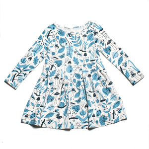 winter water factory madison dress is made in the USA and 100% certified organic cotton