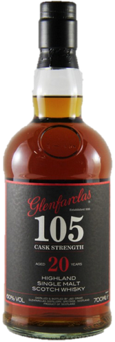 Glenfarclas 105 Cask Strength 20 Year Old