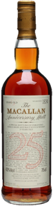 The Macallan 25 Year Old – Anniversary Malt