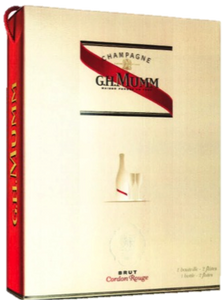 G.H. Mumm Cordon Rouge NV (2pcs Flute Set)
