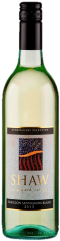 Shaw Vineyard Estate Winemakers Selection Semillon Sauvignon Blanc 2014