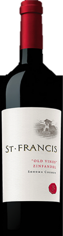 St. Francis Sonoma County Old Vines Zinfandel 750ml 2012