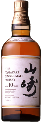 The Yamazaki Single Malt Whisky 10YO