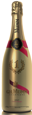 G.H. Mumm Cordon Rouge N°1 GOLD EDITION