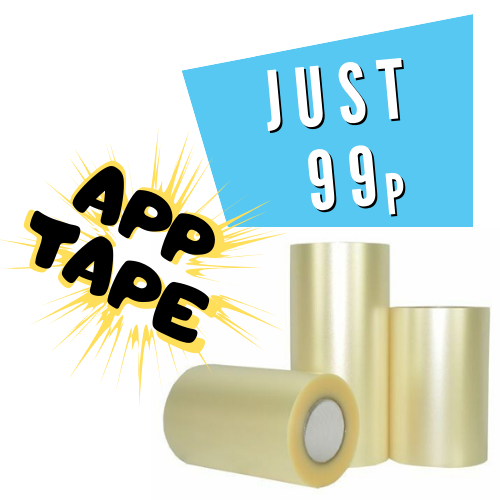 speed cube stickers application tape