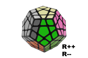 megaminx notation - learm the R++ and R-- notations
