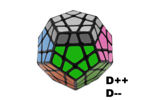 learn the official megaminx notation moves and algorithms