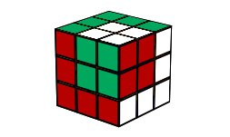 Cube in a cube rubiks cube pattern | Cool Rubik's Cube Patterns To Make | KewbzUK
