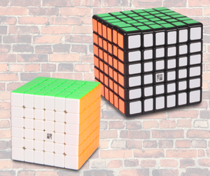 Best 6x6 Speed cubes in the UK and on the Market. KewbzUK recommend 6x6 speed cubes.