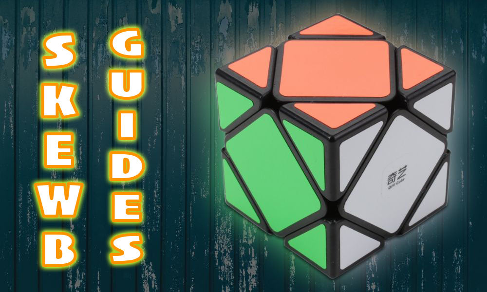 How To Solve a Skewb cube Tutorial Beginner walkthrough guide KewbzUK