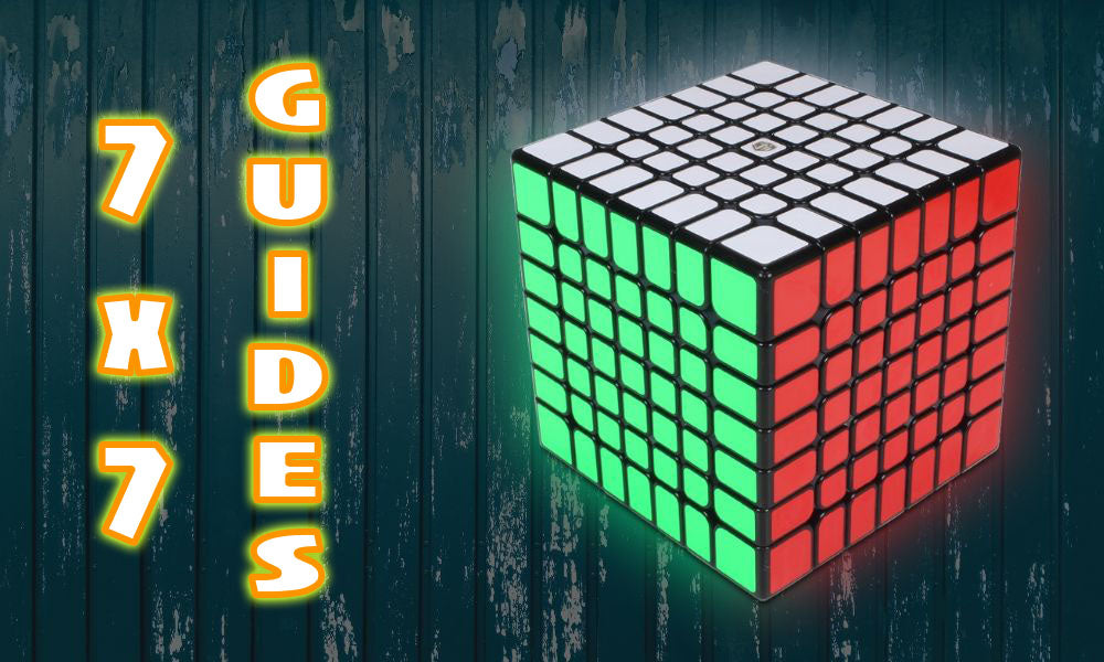 How To Solve a 7x7 cube Tutorial Beginner walkthrough guide KewbzUK