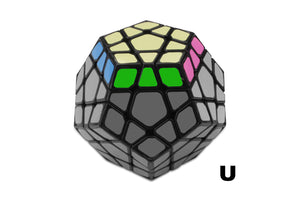 learn the megaminx notation moves