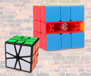 Best Square-1 Speed cubes in the UK and on the Market. KewbzUK recommend Square-1 speed cubes.