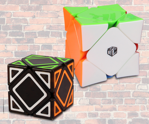 Best Skewb Speed cubes in the UK and on the Market. KewbzUK recommend Skewb speed cubes.