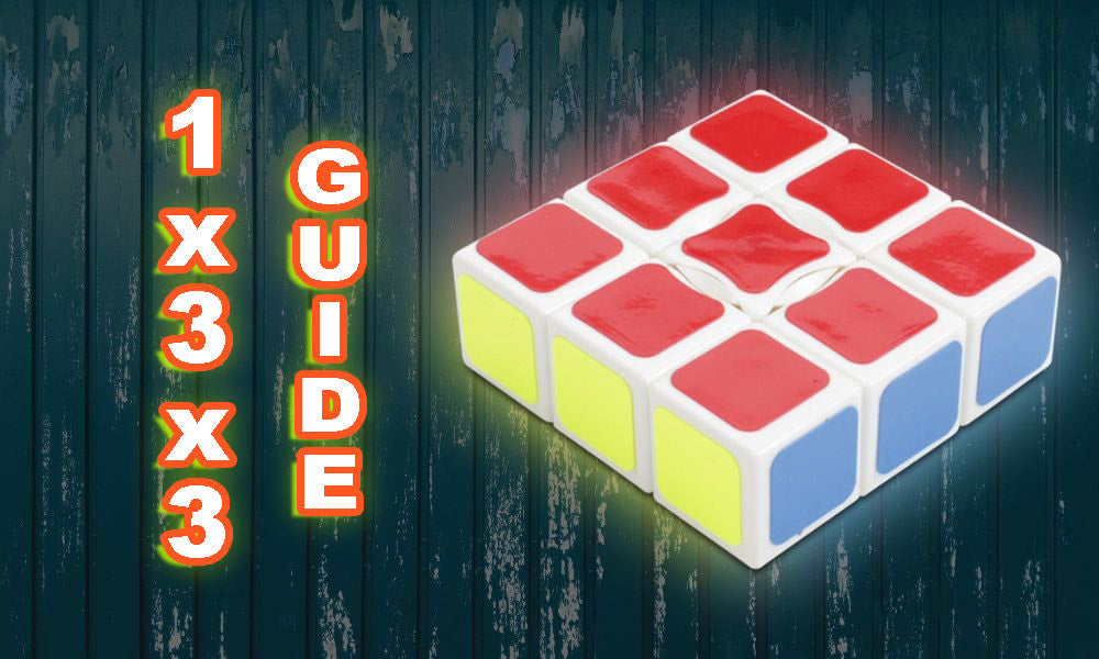 How To Solve a 1x3x3 cube Tutorial Beginner walkthrough guide KewbzUK