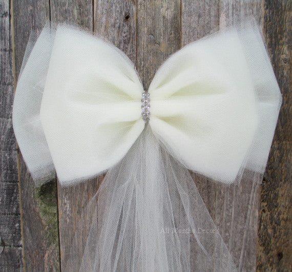 Tulle Bows For Spring